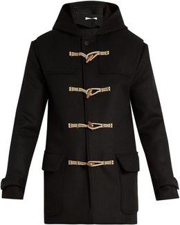 Hooded Wool Duffle Coat