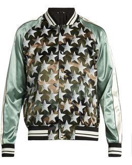 Souvenir Camouflage And Stars-print Jacket
