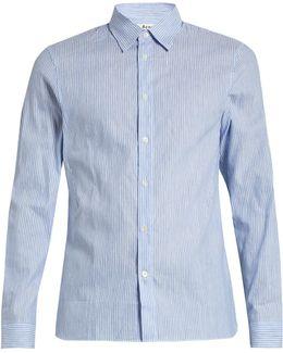Glasgow Pop Cotton-poplin Shirt