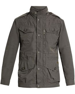 High-neck Five-pocket Jacket