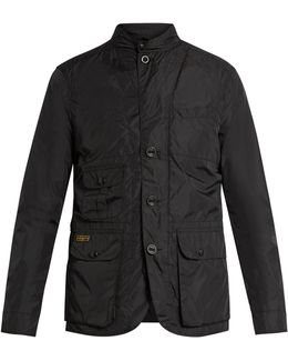 High-neck Four-pocket Jacket