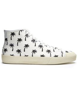 Court Classic High-top Canvas Trainers