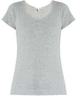 Short-sleeved Cotton Pyjama Top