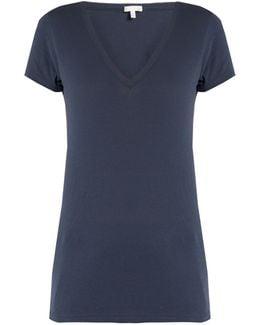V-neck Cotton Pyjama T-shirt