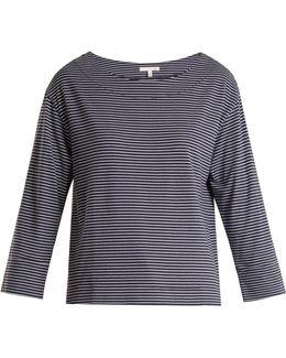 Striped Jersey Pyjama Top
