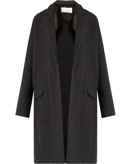 Double-faced Wool And Cashmere-blend Blanket Coat