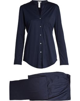 Relaxed-fit Cotton Pyjama Set