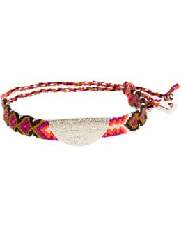Taco Sterling-silver Friendship Bracelet