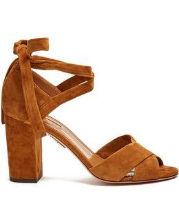 Tarzan Block-heel Suede Sandals