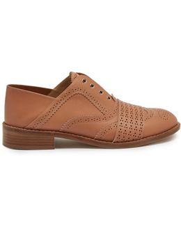 Moll Spectator Collapsible-heel Leather Brogues