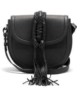 Ghianda Leather Cross-body Bag