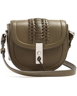 Ghianda Mini Leather Cross-body Bag