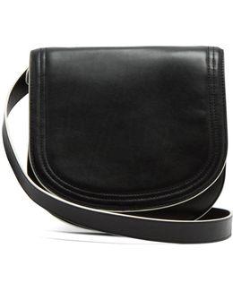 Small Saddle Leather Cross-body Bag