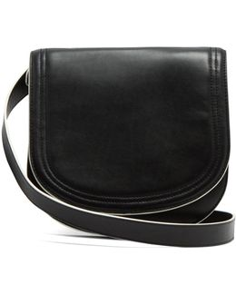 Small Saddle Leather Cross-body Bag