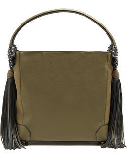 Eloise Hobo Leather Shoulder Bag