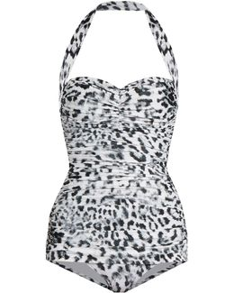 Bill Mio Leopard-print Swimsuit