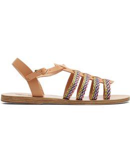 Korinna Multicoloured Leather Sandal