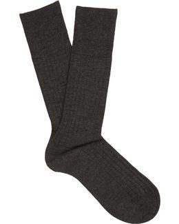 N°2 Cashmere-blend Socks