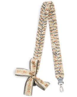 Strap You Ribbon-whipstitched Leather Bag Strap