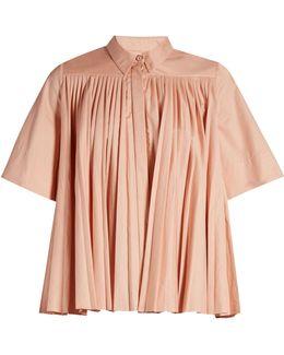 Mikula Gathered-yoke Shirt