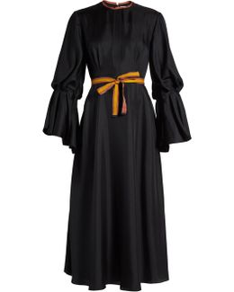 Ophelia Silk-satin Dress