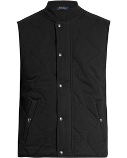 Quilted Cotton-blend Gilet