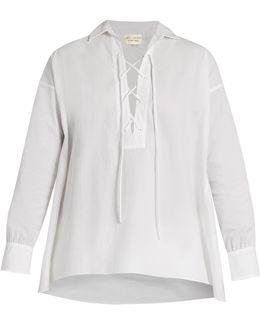 Shiloh Cotton-poplin Shirt