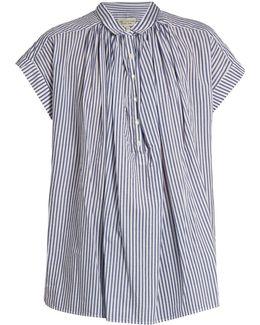 Normandy Striped Cotton Shirt