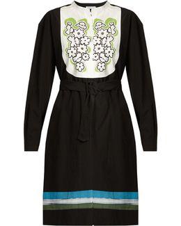 Zuma Floral-print Cotton-poplin Dress