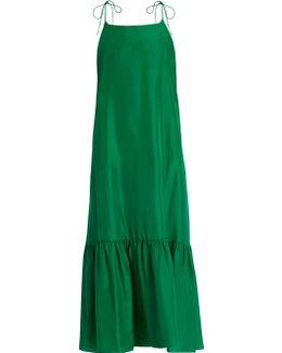 Kalahari Silk Maxi Dress
