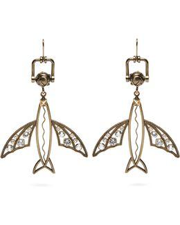 Flying-fish Drop Earrings