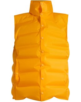High-neck Inflatable Gilet