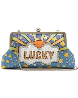 Lucky Embellished Clutch