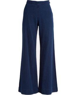 Cleric Japanese-denim Wide-leg Jeans
