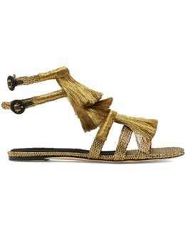 Pollensa Fringed Sandals