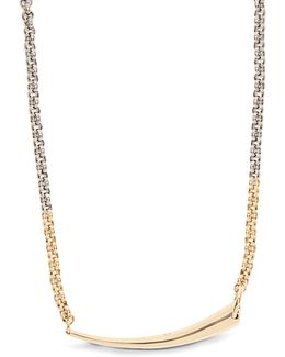 Alki Silver & Gold-plated Necklace