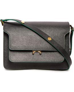 Trunk Medium Leather Shoulder Bag