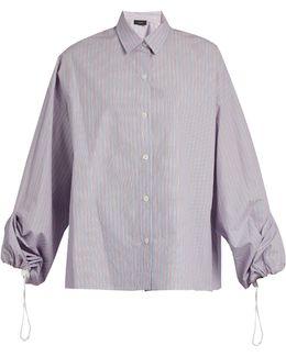 Sino Striped Cotton Shirt