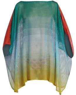 Ombré Fine-knit Kaftan