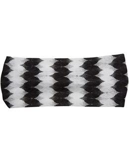 Zigzag-knit Headband