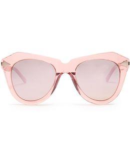 One Star Cat-eye Sunglasses