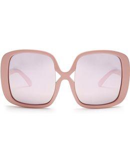 Domingo Butterfly-frame Sunglasses