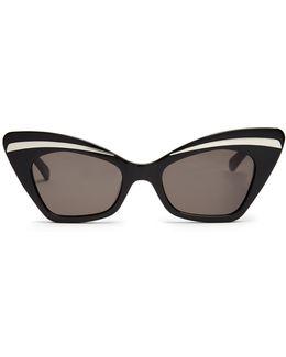 Babou Shrunken Cat-eye Sunglasses
