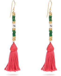 Sioux Tassel-drop Earrings