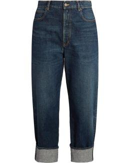Kim High-rise Straight-leg Boyfriend Jeans