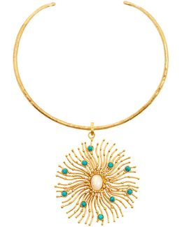 Solar Gold-plated Necklace