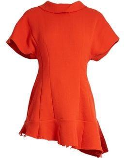 Short Sleeve Asymmetric Top