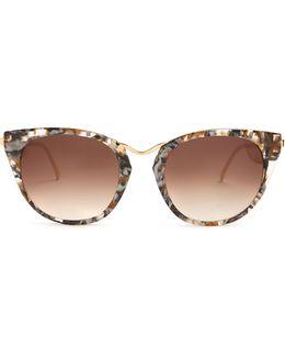 Hinky Cat-eye Sunglasses
