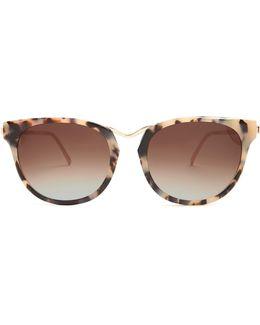 Gummy Cat-eye Sunglasses