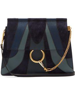 Faye Medium Patchwork Leather Shoulder Bag